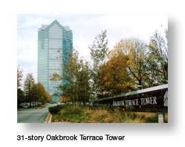 Oakbrook Terrace 31 story Office Tower